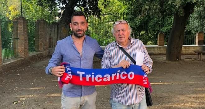 Luca Passeri con il presidente Pianelli