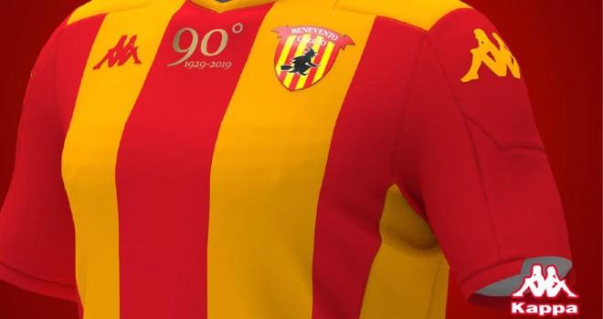 La nuova maglia del Benevento