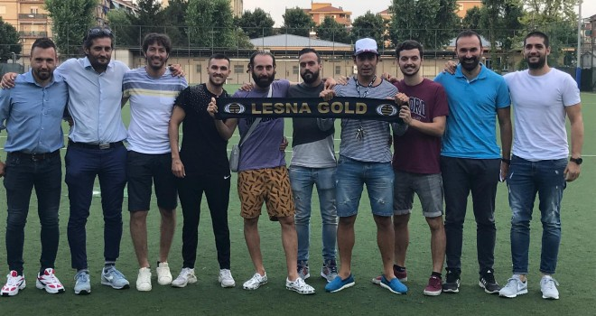 I nuovi rinforzi del Lesna Gold