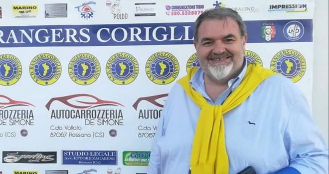"""Rangers Corigliano, il presidente Faraco: """"Orgogliosi di Bomparola"""""""