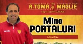 A. Toma Maglie: confermati mister Portaluri e 3 calciatori