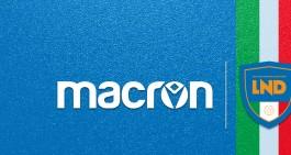 LND, Macron è nuovo sponsor tecnico