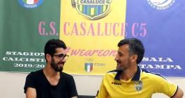 """G.S. Casaluce C5. Firma Napolitano: """"E' un progetto che mi affascina"""""""