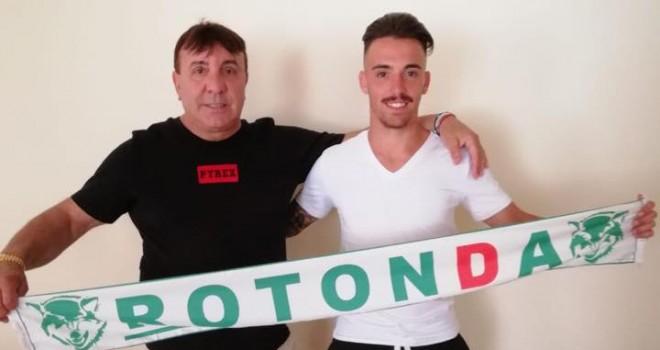 Il centrocampista Matteo Boscaglia