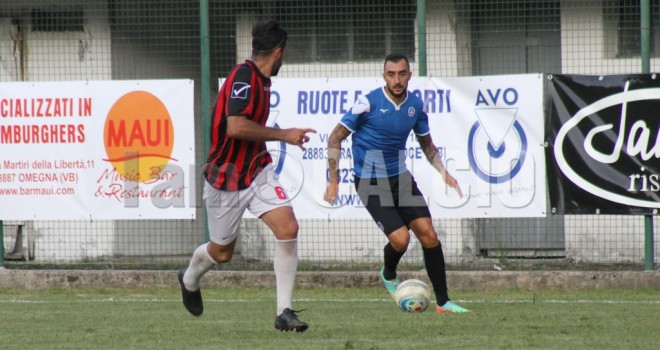 """Omegna - Novara 0-3 al """"Liberazione"""""""