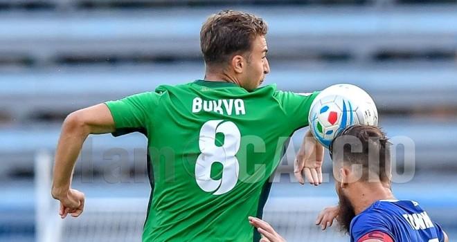 Bukva, al primo gol con il Gozzano