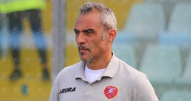 Mimmo Toscano, allenatore della Reggina