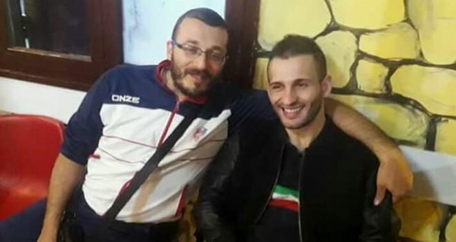Il dg Biagio Angotti con Mario Ricioppo
