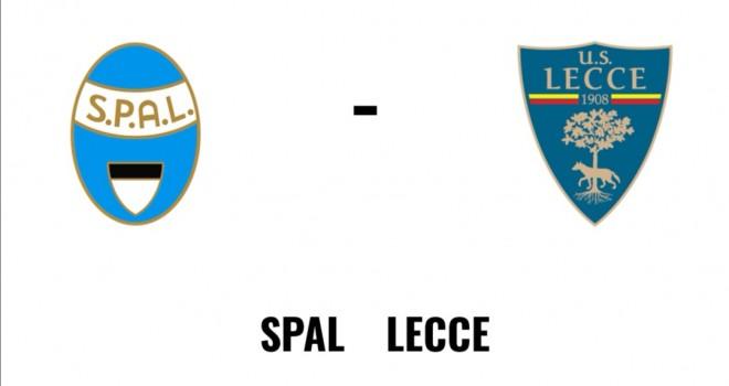 Spal Lecce formazioni ufficiali
