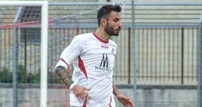 L'attaccante Francesco Mazza
