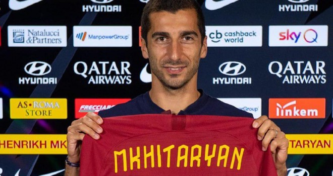 Henrikh Mkhitaryan (AS Roma)