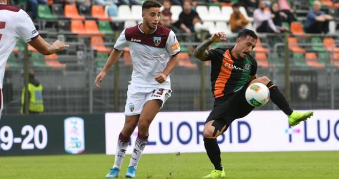 Salernitana affondata dall'ex Bocalon, vince il Venezia 1-0