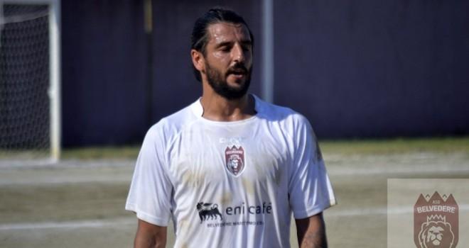 L'attaccante Nicola Mandarano