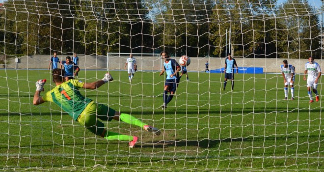Il quarto gol stagionale di Melandri