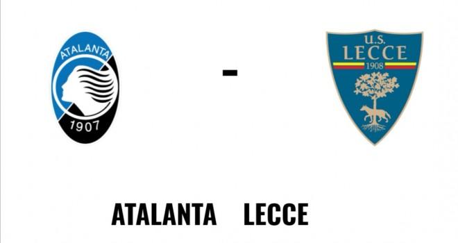 Atalanta Lecce formazioni ufficiali