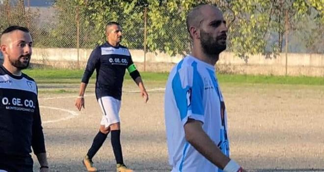 L'attaccante Antonio Golia