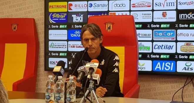 """Benevento. Inzaghi: """"Siamo in emergenza ma non deve essere un alibi"""""""