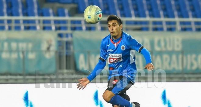 Olbia-Novara 1-2, Peralta e Bianchi mettono le ali agli azzurri!