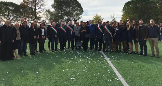 Faicchio. Consegnato il nuovo campo sportivo in erba sintetica - Benevento IamCALCIO