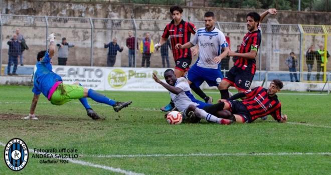 Una azione del match, ph. A. Salzillo