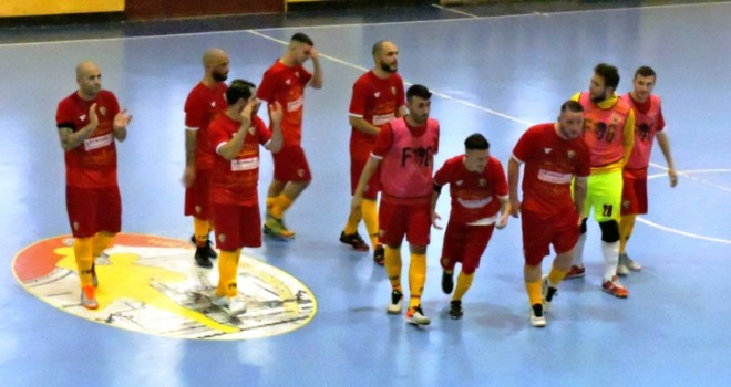 L'esultanza del Benevento 5