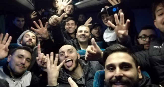 Il selfie-vittoria della Matteo Football