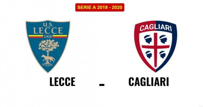 Lecce-Cagliari formazioni ufficiali