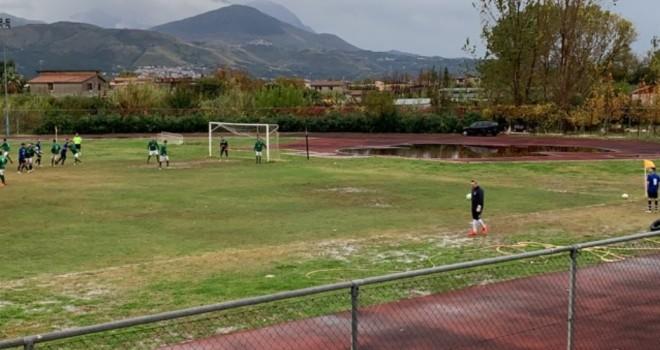 Fasi di gioco tra Grisolia e Palmeiras