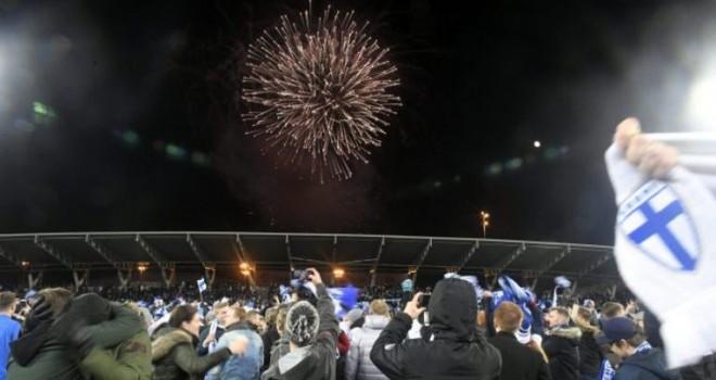 Helsinki, esplode la festa