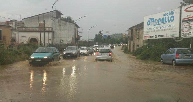 Benevento pioggia