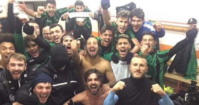 Festa Dufour dopo il match