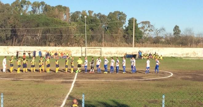 C. Volturno-Sessana 0-1: alla capolista basta un gol di Marraffino