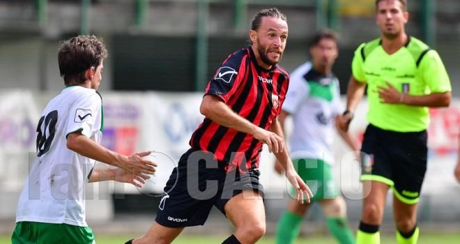 Hado, in gol per i rossoneri di Tabozzi