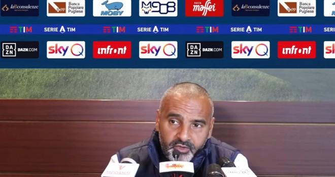 """Lecce. Liverani: """"Domani sarà battaglia vera"""""""