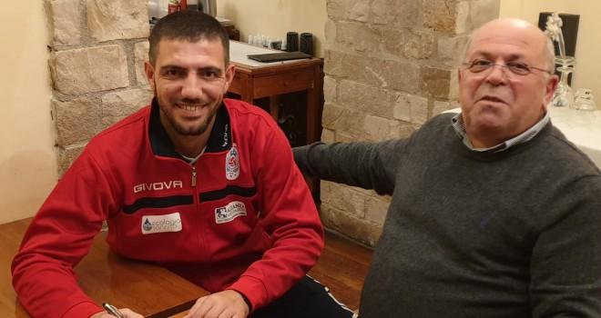 V. Santini con il D.s. La Torella