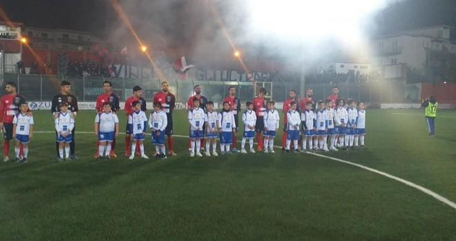 L'Afragolese batte il Costa d'Amalfi e vince la Coppa Italia
