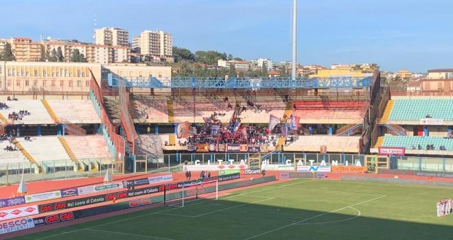 Tifosi Potenza a Catania