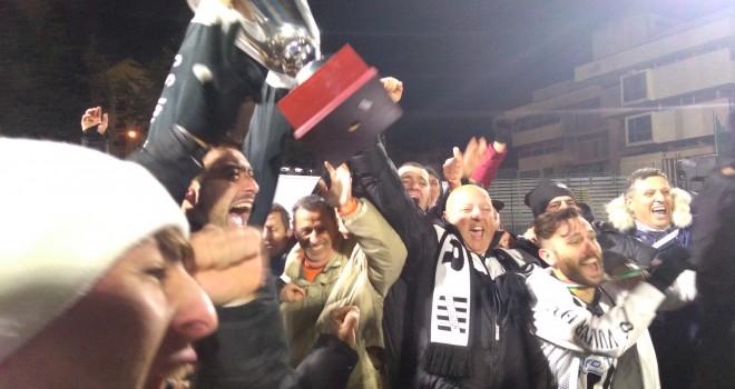 La Coppa Italia alzata dalla Vultur