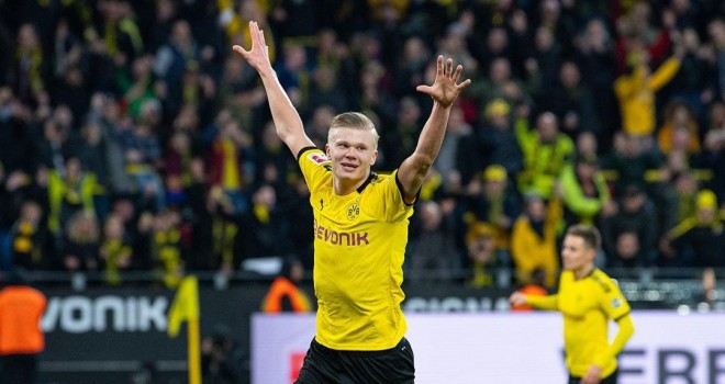 Champions League: Erling Haaland nominato Player of the week