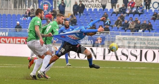 Il rigore non dato al Novara sullo 0-0