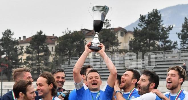 Il trofeo scorso, andato al Virtus Villa