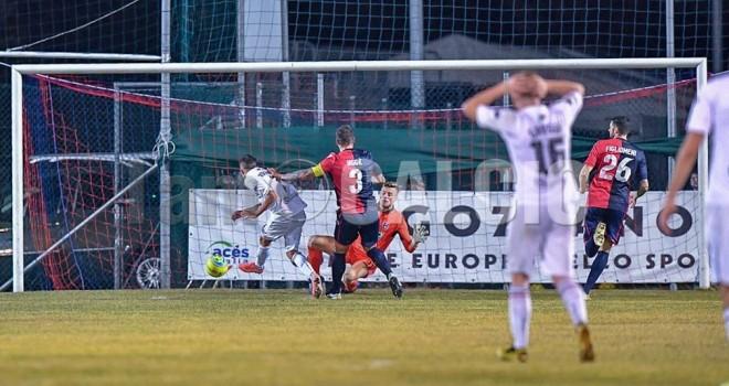 Il gol decisivo di Rolando Eugio