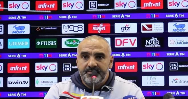 Fabio Liverani, allenatore Lecce
