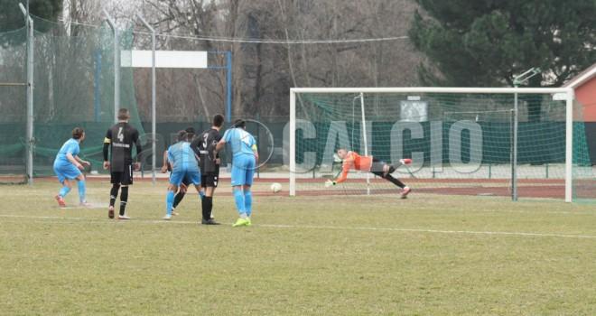 Ravetto lancia la rimonta aronese, 1-1