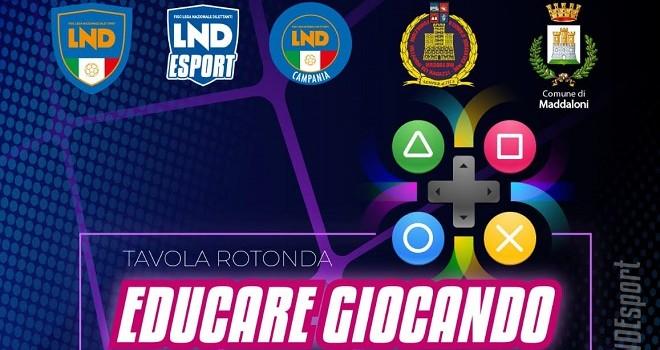 A Maddaloni la tappa campana del campionato ESport della LND