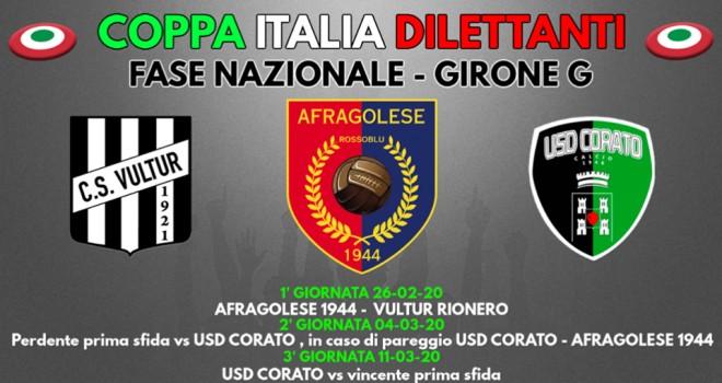 La Vultur inizia da Cardito il suo cammino in Coppa Italia Nazionale