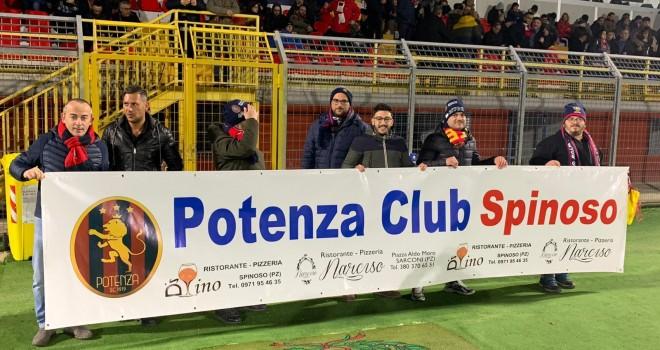 Il Potenza Club Spinoso al Viviani