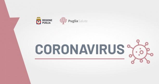 Coronavirus - Puglia 152 nuovi casi e 4 morti. Bollettino del 27 marzo