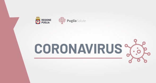 Coronavirus Puglia 12 maggio