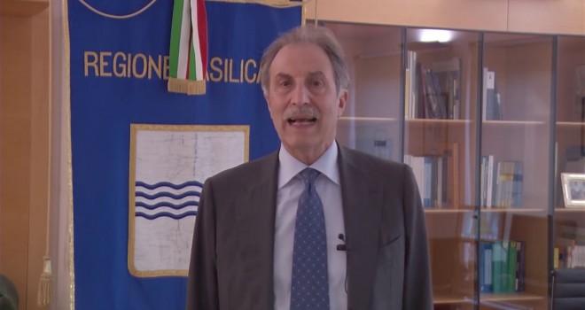 Il presidente della Regione Vito Bardi